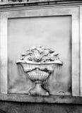 Fundo antigo do bas-relevo-chique fotos de stock royalty free