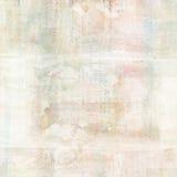 Fundo antigo sujo da aquarela da colagem do vintage com texto Fotos de Stock Royalty Free