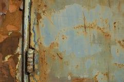 Fundo antiquado azul fotografia de stock royalty free