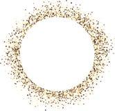 Fundo arenoso redondo abstrato branco ilustração do vetor
