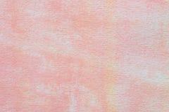 Fundo aristic pintado rosa da textura da aquarela fotografia de stock royalty free