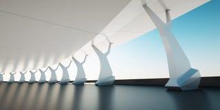 Fundo arquitectónico Imagens de Stock