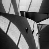 Fundo arquitectónico abstrato Foto de Stock Royalty Free