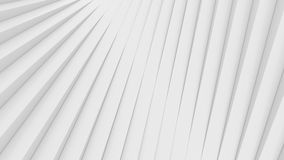 Fundo arquitetónico abstrato branco Fotografia de Stock