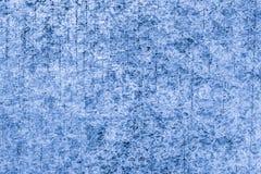 Fundo arrastado azul da textura do metal com aparência granulada fotos de stock royalty free