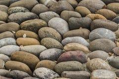 Fundo arredondado do assoalho das rochas imagens de stock royalty free