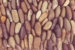 Fundo arredondado do assoalho das rochas fotografia de stock