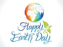 Fundo artístico abstrato do Dia da Terra Fotografia de Stock Royalty Free