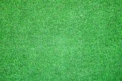 Fundo artificial das texturas da grama para o campo de golfe foto de stock