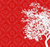 Fundo asiático Foto de Stock Royalty Free