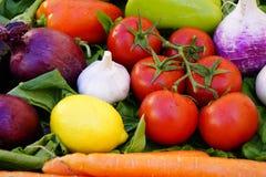 Fundo asiático dos vegetais Comer saudável Fotos de Stock