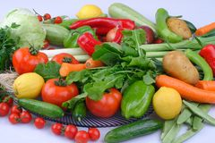 Fundo asi?tico dos vegetais Comer saud?vel imagens de stock royalty free