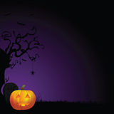 Fundo assustador de Halloween Fotos de Stock Royalty Free