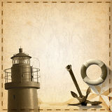 Fundo aventuroso das viagens ilustração royalty free