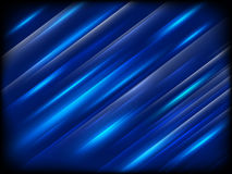 Fundo azul à moda Eps 10 Imagens de Stock