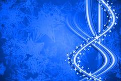 Fundo azul Fotografia de Stock