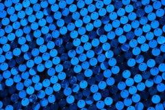 Fundo azul Fotos de Stock