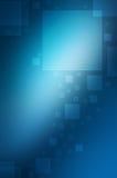 Fundo azul abstrato Foto de Stock