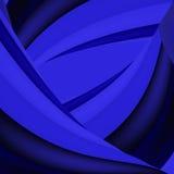 Fundo azul abstrato Fotos de Stock Royalty Free