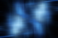 Fundo azul abstrato Fotografia de Stock Royalty Free