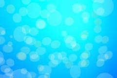 Fundo azul abstrato com bokeh defocused, textura do borrão com Imagem de Stock Royalty Free