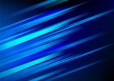 Fundo azul abstrato com linhas diagonais claras Projeto do movimento da velocidade Textura dinâmica do esporte Vetor do córrego d ilustração do vetor