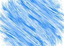 Fundo azul abstrato da pintura Imagem de Stock Royalty Free