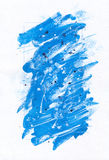 Fundo azul abstrato da pintura foto de stock royalty free