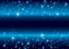 Fundo azul abstrato da tecnologia Fotos de Stock