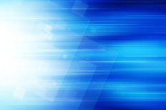 Fundo azul abstrato da tecnologia Imagens de Stock
