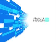 Fundo azul abstrato da tecnologia Seringa do conceito design Fotos de Stock