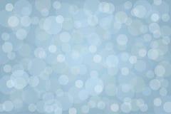 Fundo azul abstrato do bokeh Ilustração do vetor Imagens de Stock Royalty Free