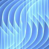 Fundo azul abstrato Linhas azuis brilhantes Teste padrão geométrico em cores azuis Twirl vermelho de Digitas art Fotos de Stock