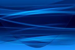 Fundo azul abstrato, textura do engranzamento ilustração do vetor