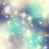 Fundo azul bonito do inverno imagens de stock