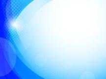 Fundo azul brilhante ilustração do vetor