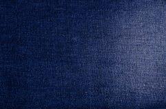 Fundo azul clássico da sarja de Nimes fotos de stock