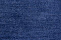 Fundo azul clássico da sarja de Nimes imagens de stock