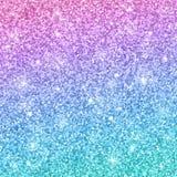 Fundo azul cor-de-rosa do brilho Vetor ilustração do vetor