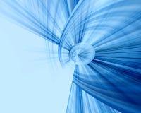 Fundo azul da abstracção Fotos de Stock