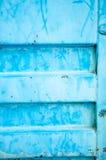 Fundo azul da folha de metal Imagens de Stock
