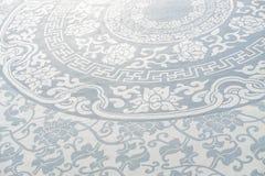 fundo azul da porcelana imagem de stock