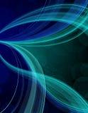 Fundo azul da raia Foto de Stock Royalty Free