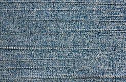 Fundo azul da tela da sarja de Nimes imagens de stock royalty free
