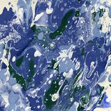 Fundo azul da textura da pintura do vetor do grunge Imagens de Stock