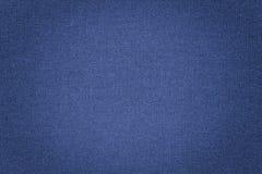 Fundo azul da textura da tela Fotos de Stock Royalty Free