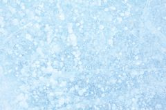Fundo azul da textura do gelo Imagem de Stock