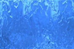 Fundo azul da textura do gelo - fotos conservadas em estoque Imagem de Stock Royalty Free