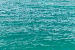 Fundo azul da textura do mar Foto de Stock