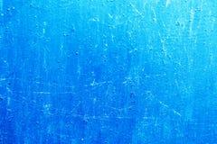 Fundo azul da textura do metal Fotografia de Stock